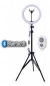 Aros de luz aro de 26 cm 3 tonos de luz con Bluetooth, Tripode 2M, Ajustable